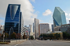 Downtown Dallas Texas. Royalty Free Stock Images