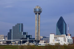 Downtown Dallas, Texas Royalty Free Stock Photo