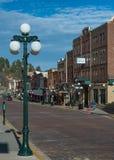 Downtown Deadwood Stock Image