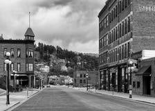 Downtown Deadwood Stock Photo