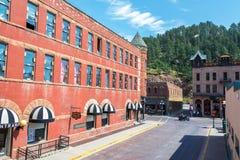 Downtown Deadwood, South Dakota Royalty Free Stock Image