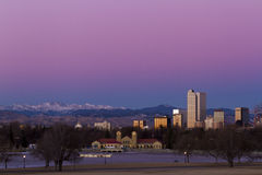 Downtown Denver Royalty Free Stock Image