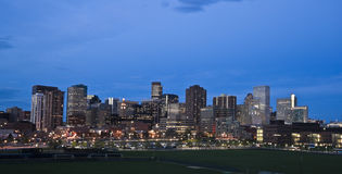 Downtown Denver Royalty Free Stock Images