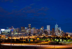 Downtown Denver, Colorado Stock Photo