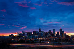 Downtown Denver Stock Image