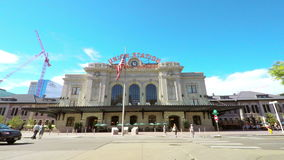 Downtown Denver stock video