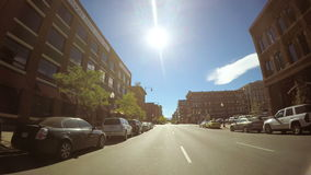 Downtown Denver stock video footage