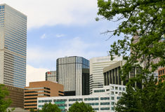 Downtown of Denver royalty free stock photo