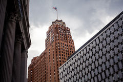 Downtown Detroit Royalty Free Stock Images