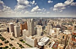 Downtown Detroit Stock Images