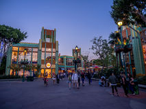Downtown Disney shopping and entertainment district Stock Image
