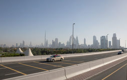 Downtown District in Dubai Royalty Free Stock Photography