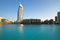 Downtown Dubai Royalty Free Stock Image