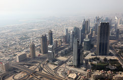 Downtown Dubai Stock Photos