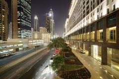 Downtown of dubai city Stock Photo
