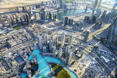DOWNTOWN DUBAI Stock Photography