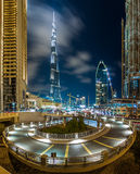 DownTown Dubai. The maze of downtown dubai Royalty Free Stock Photos