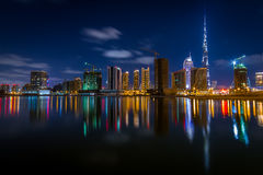 DownTown Dubai royalty free stock photography