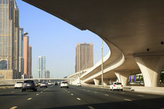Downtown Dubai, UAE. Image of downtown Dubai, United Arab Emirates Royalty Free Stock Photo