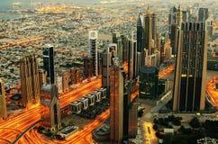 Downtown of Dubai (UAE) Royalty Free Stock Image