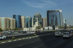 Downtown Dubai Stock Photo