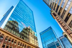 In the Downtown Edmonton Alberta. Canada royalty free stock photo