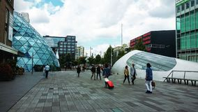 Downtown of Eindhoven Royalty Free Stock Images