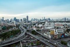 Downtown Expressway Stock Photo