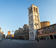 Downtown of Ferrara Stock Images