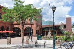 Downtown Flagstaff, Arizona Stock Image