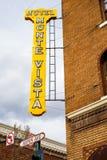 Downtown Flagstaff Cityscape Stock Photos