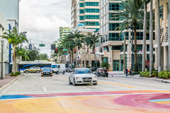 Downtown Fort Lauderdale, Florida Royalty Free Stock Photo