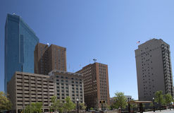 Downtown Fort Worth. Beautiful downtown Fort Worth ,TX USA stock photography