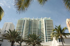 Downtown Ft Lauderdale. Beach hotel in downtown Ft Lauderdale, Florida Stock Image
