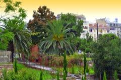 Downtown garden Thessaloniki Royalty Free Stock Photos