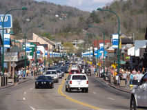 Downtown Gatlingburg Tennessee Royalty Free Stock Photos
