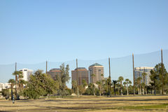 Downtown Golf Course Field Royalty Free Stock Photos