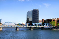 Downtown Grand Rapids Stock Images