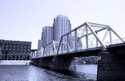 Downtown Grand Rapids royalty free stock images