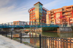 Downtown Greenville South Carolina Royalty Free Stock Photography