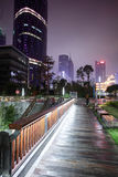 Downtown of guangzhou in china Stock Images