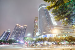 Downtown of guangzhou in china Royalty Free Stock Photos