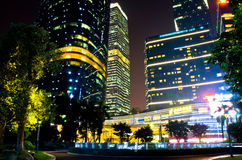 Downtown of guangzhou in china. Stock Photography