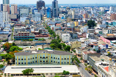 Downtown Guayaquil View Royalty Free Stock Image