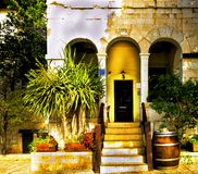 Downtown Haifa architecture Israel Royalty Free Stock Images