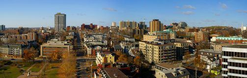Downtown Halifax. Panoramic view of downtown Halifax Royalty Free Stock Photos