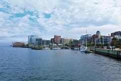 Downtown Halifax along the waterfront stock photography