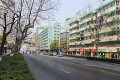 Downtown of Hangzhou, China Stock Images
