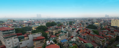 Downtown Hanoi, Vietnam, Old Quarter Royalty Free Stock Photo
