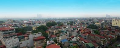 Downtown Hanoi, Vietnam, Old Quarter royalty free stock photo